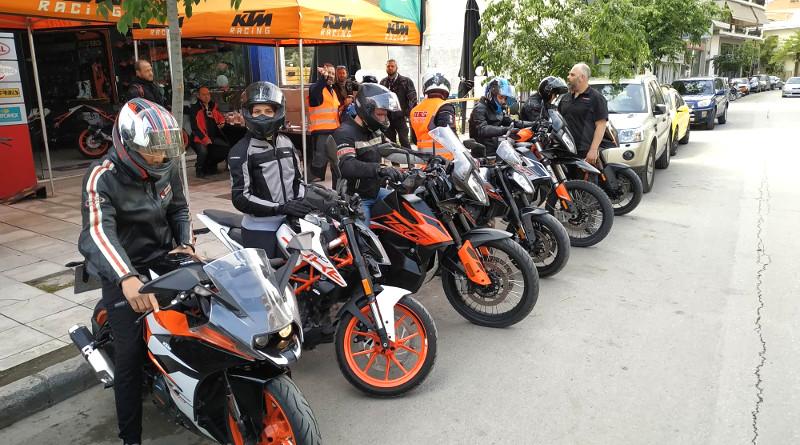 KTM Orange Days: Η πορτοκαλί ομάδα στη Λάρισα.