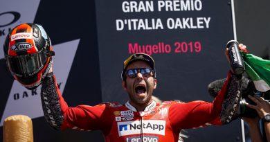 Θρίαμβος για τη Ducati στο Mugello με νίκη του Petrucci.