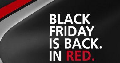 """Κατακόκκινη """"Black Friday"""" από τη Ducati."""