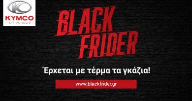 Kymco Black Frider.