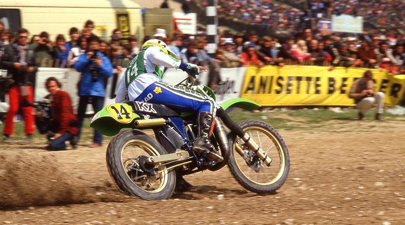 Brad Lackey, ο «πράσινος» πρωτοπόρος στα MX για την Kawasaki.