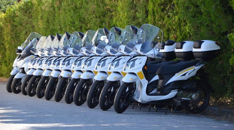 33 SYM scooters στις υπηρεσίες του Δήμου Θεσσαλονίκης.