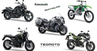 Black Friday 2020 από την ΤΕΟΜΟΤΟ Α.Ε. σε μοτοσικλέτες της Kawasaki.